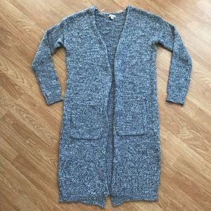 Merona Long Knit Cardigan Sweater L